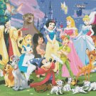 "Disney giant floor - 31.50"" x 22.36"" - Cross Stitch Pattern Pdf E591"