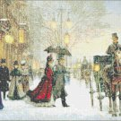 "Elegant century - by Maley - 23.64"" x 15.64"" - Cross Stitch Pattern Pdf C503"