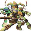 "Teenage mutant ninja turtles superheroes - 22.36"" x 14.43"" - Cross Stitch Pattern Pdf E772"