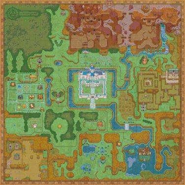 Zelda a link between hyrule maps - 24.57