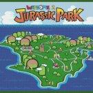 "Jurassic Park level - 31.50"" x 24.40"" - Cross Stitch Pattern Pdf E804"