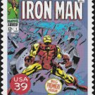 "Iron man stamp - 13.79"" x 17.93"" - Cross Stitch Pattern Pdf E816"