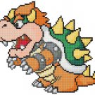 "Bowser Zelda - 31.50"" x 24.40"" - Cross Stitch Pattern Pdf E755"