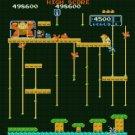 """Mario and kong - 18.57"""" x 17.71"""" - Cross Stitch Pattern Pdf E842"""