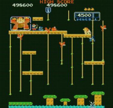 """Mario and kong - 18.57"""" x 17.71"""" - Cross Stitch Pattern Pdf C842"""