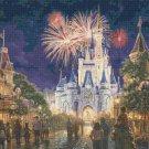 "Main Street Disney Resort - inspirated to Kinkade - 35.36"" x 23.79"" - Cross Stitch Pattern Pdf C889"