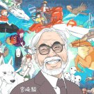 "All characters of Hayao Miyazaki - 35.43"" x 22.71"" - Cross Stitch Pattern Pdf E157"