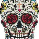 "Sugar Skull  - 11.71"" x 8.93"" - Cross Stitch Pattern Pdf E639"