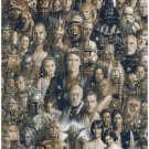 "Star wars all characters  - 13.79"" x 20.57"" - Cross Stitch Pattern Pdf C1246"