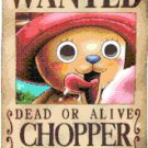 "One piece chopper wanted - 11.79"" x 17.64"" - Cross Stitch Pattern Pdf E1314"