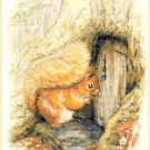 "Squirrel nutkin by beatrix potter - 7.87"" x 10.62"" - Cross Stitch Pattern Pdf C1299"