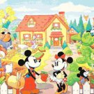 "mickey and minnie married - 23.64"" x 17.71"""" - Cross Stitch Pattern Pdf E1301"