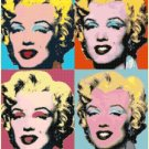 "marilyn monroe by warhol - 15.71"" x 19.71"" - Cross Stitch Pattern Pdf C1315"