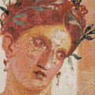 "Pompei's art Cross Stitch Pattern - 15.71"" x 11.79"" - E1346"