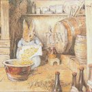 "rabbit Cross Stitch Pattern Cross Stitch Pattern beatrix potter - 21.36"" x 18.93"" - C1365"