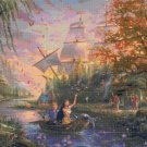 "Pocahontas cross stitch pattern kinkade Cross Stitch - 35.43"" x 23.57"" E1615"