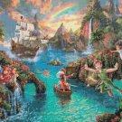 """Peter pan cross stitch pattern Kinkade Cross Stitch - 35.43"""" x 26.57"""" - E1620"""