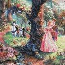 Sleeping Beauty cross stitch pattern Kinkade Cross Stitch pattern 496 * 459 stitches E1624