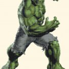 "Hulk small - 11.93"" x 16.71"" - Cross Stitch Pattern Pdf E1294"