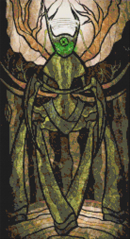"""sages of hyrule - Palagard -  9.86"""" x 18.07"""" - Cross Stitch Pattern Pdf E1640"""