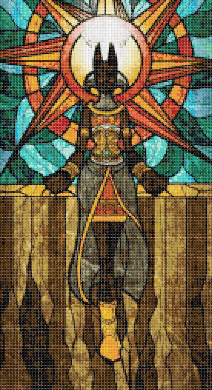 """sages of hyrule - Yaraxonal-  9.86"""" x 18.07"""" - Cross Stitch Pattern Pdf E1643"""