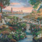 "Counted Cross Stitch 101 dalmatians Kinkade - 35.43"" x 23.64"" - E1926"