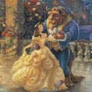 "beauty and the beast cross stitch pattern Kinkade Cross 21.64"" x 21.57"" - E2024"