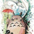 """My Neighbor Totoro of Hayao Miyazaki - 13.79"""" x 23.93"""" - Cross Stitch Pattern Pdf E1941"""