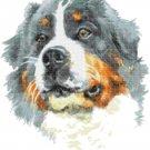 Counted Cross Stitch pattern watercolor pet dog 167 * 186 stitches E1972
