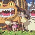watercolor Totoro Cross Stitch miyazaki pattern 496*271 stitches E267