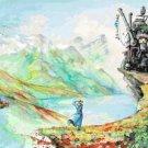 Cross stitch pattern - Studio ghibli - Miyazaki  441 * 296 stitches E2297
