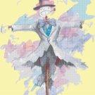 counted Cross Stitch Pattern turnip watercolor miyazaki 175 * 231 stitches E1960