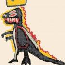 Counted cross stitch pattern dinosaur by Basquiat 180*232 stitches E2294