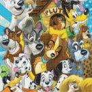 counted cross stitch pattern all disney dogs pluto 190*236 stitches E1610