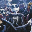 counted Cross Stitch Pattern nightmare before christmas 386x217 stitches E686