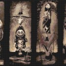 counted  Cross Stitch Pattern nightmare before christmas 367x220 stitches E1527