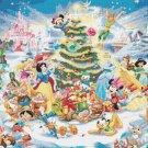 counted cross stitch pattern disney christmas pdf file 496*352 stitches E2034