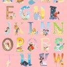 counted cross stitch pattern disney alphabet 311*448 stitches pdf file E1647