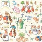 Counted cross Stitch Pattern beatrix potter characters 375*274 stitches E1379