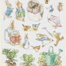 Counted cross Stitch Pattern beatrix potter characters 375*274 stitches E1377