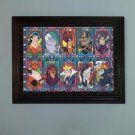 counted cross stitch pattern Disney villains embroidery 386x289 stitches E2038