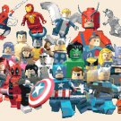 counted cross stitch pattern lego marvel superheroes 320 x 245 stitches E1169
