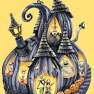 counted Cross Stitch Pattern nightmare before christmas 272x454 stitches E2258