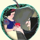 counted cross stitch pattern Snow white in the apple pdf 227*248 stitches E2148