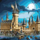 counted cross stitch pattern lego castle hogwarts 496 x 331 stitches E2194
