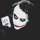 Counted Cross Stitch pattern Jocker of Batman Gotham 331x248 stitches E026