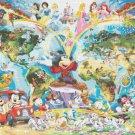 counted cross stitch pattern Disney World Map needlepoint 496*352 stitches E647