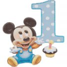 counted cross stitch pattern delicious mouse 1st birthday 116x126 stitches E239