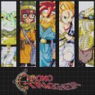 counted Cross stitch pattern chrono trigger 7 bookmarks 220x155 stitches E806