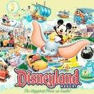 Counted Cross stitch pattern Disneyland resort characters 460x280 stitches E844
